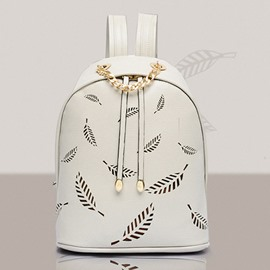 Ericedress Hollowed Leaf Shape Design Backpack