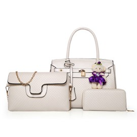 Ericdress Graceful Embossing Women Handbag(3 Bags)