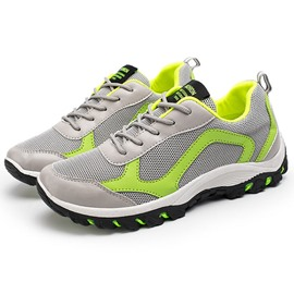 Ericdress Mesh Plain Men's Hiking Shoes