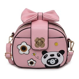 Ericdress Bowtie Design Cartoon Pattern Crossbody Bag