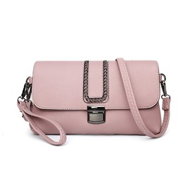 Ericdress Chain Adornment Crossbody Bag