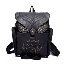 Ericedress Individual Owl Design NylonBackpack