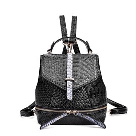 Ericdress Crocodile Pattern Embossing Backpack