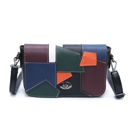 Ericdress Korea Style Color Block Crossbody Bag