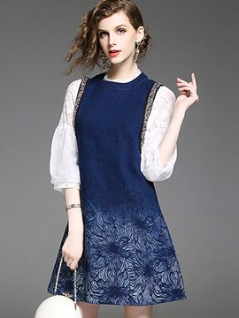 Ericdress Patchwork Hollow A-Line Women Suits
