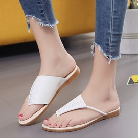Ericdress Concise Clip Toe Beach Sandals