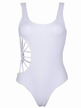 Ericdress Sexy Plain Hollow Monokini Swimwear