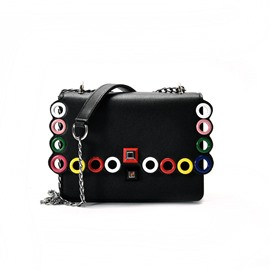 Ericdress Colourful Cirque Design Chain Crossbody Bag