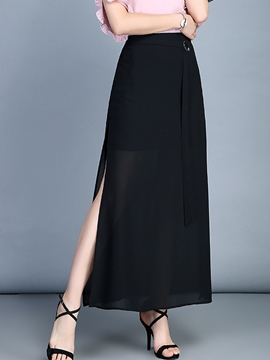 Ericdress Layered Perspective Chiffon Skirts