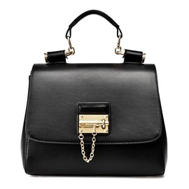 Ericdress Trendy Lock Adornment Handbag