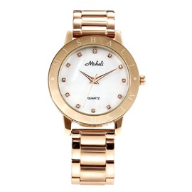 Ericdress Elegant Rose Gold Women's Watch