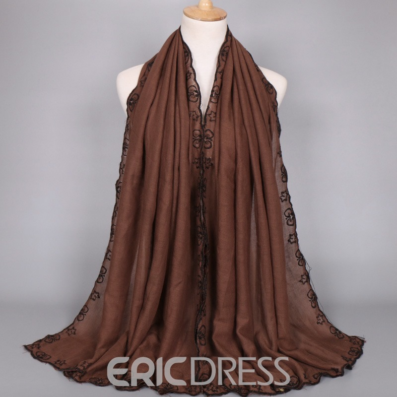 Ericdress Cotton Rectangle Scarf for Female