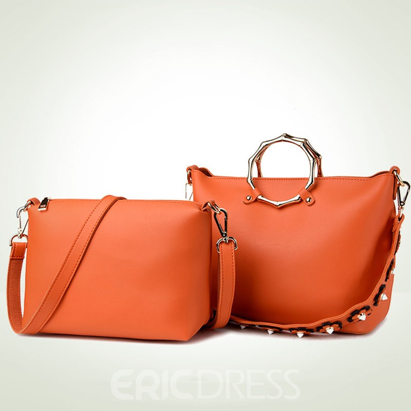 Ericdress Circular Ring Design Handbag(2 Bags)