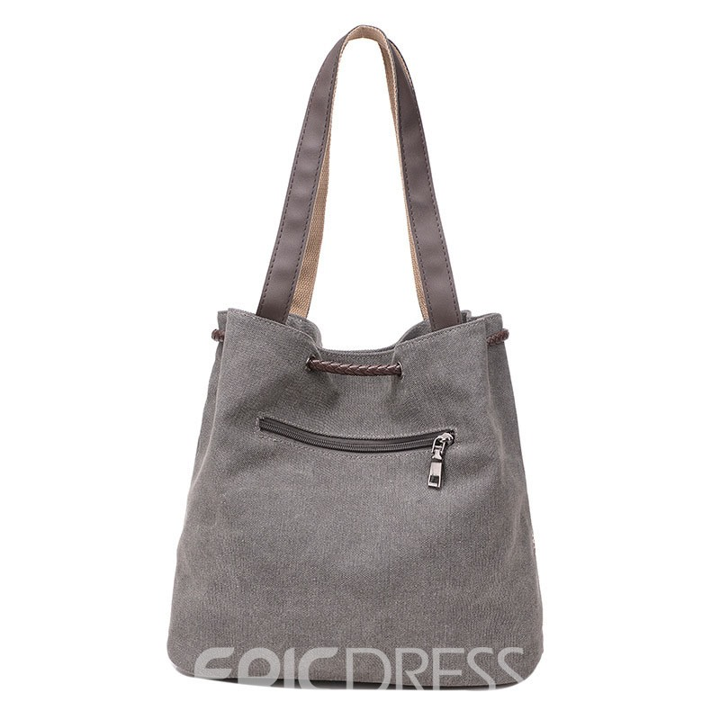 Ericdress Leisure Printing Canvas Tote Bag
