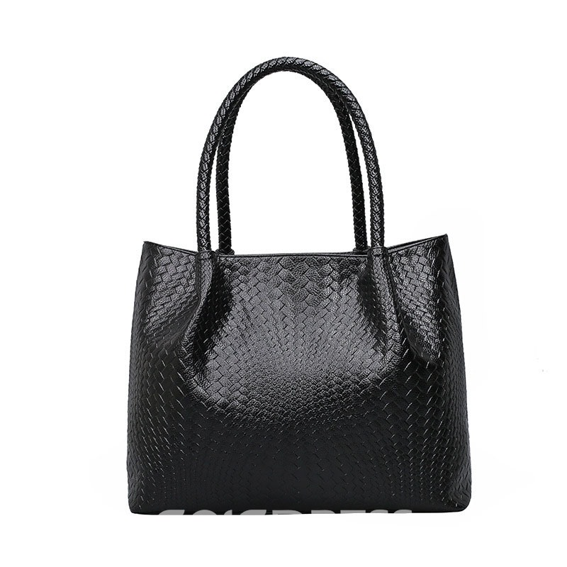 Ericdress Vogue Knitted Grain Embossing Tote