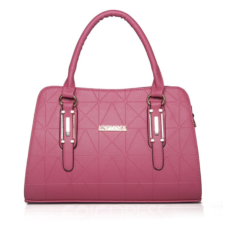 Ericdress Concise Geometric Embossing Handbag(4 Bags)