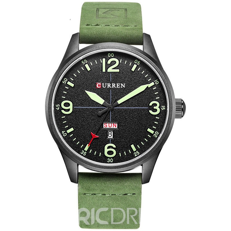 Ericdress JYY CURREN Personality Men's Watch with Calendar