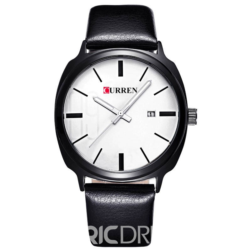 Ericdress JYY Trendy 3ATM Waterproof Men's Watch with Calendar