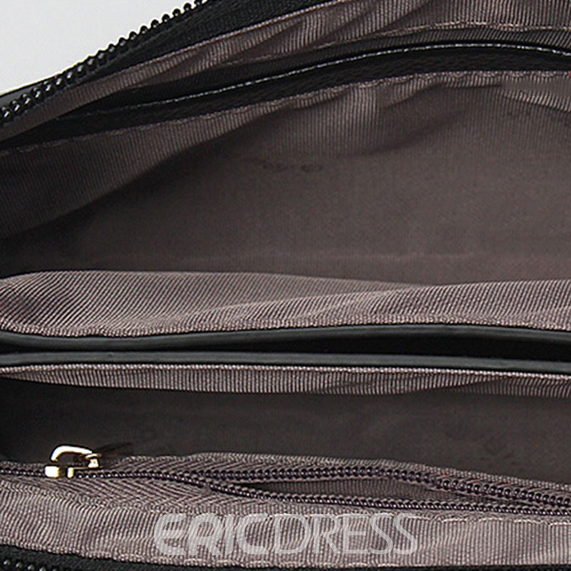 Ericdress Solid Color Magnetic Snap Purse