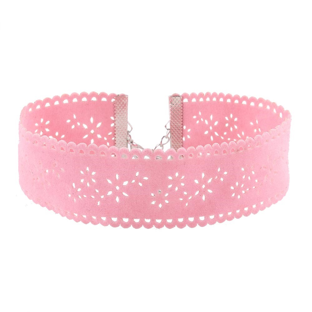 Ericdress Hot Lint Diamante Choker Necklace