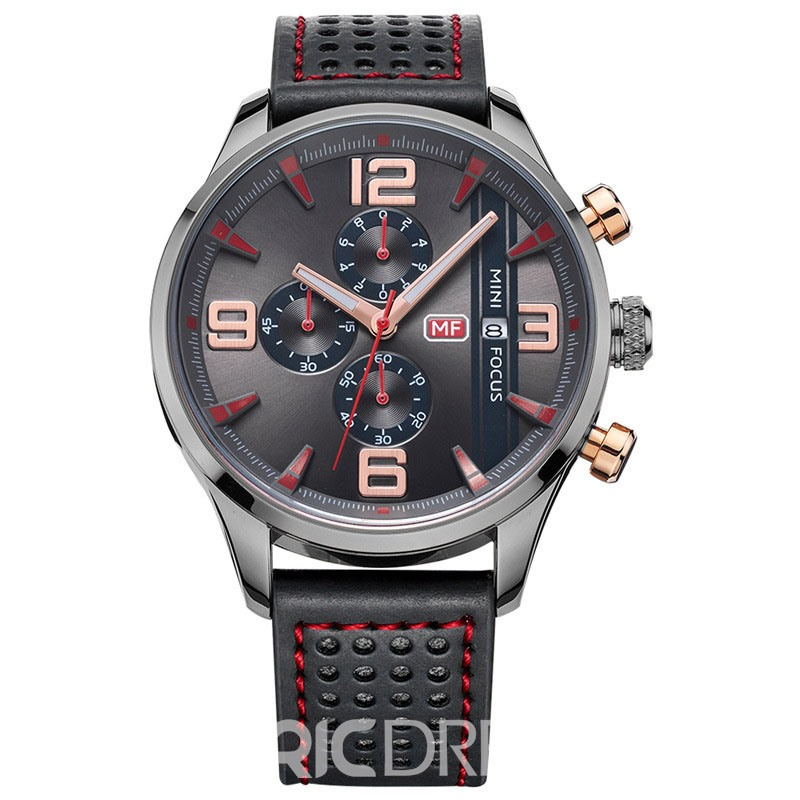 Ericdress JYY Multifunctional Case Calendar Display Men's Watch