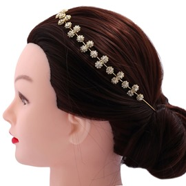Ericdress Flower-Shaped Diamante Hair Accessories