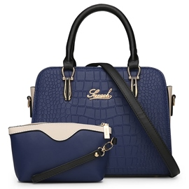 Ericdress Concise Croco-Embossed Handbag(2 Bags)