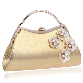 Ericdress Graceful Flower Beads Adornment Evening Clutch