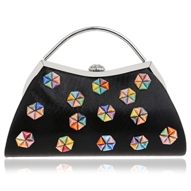 Ericdress Colorful Beads Pattern Evening Clutch