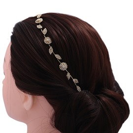 Ericdress Diamante Leaf Women's Hair Accessories