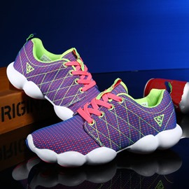 Ericdress Bright Mesh Lace up Men's Athletic Shoes