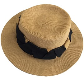 Ericdress Elegant All Match Straw Sunhat for Women