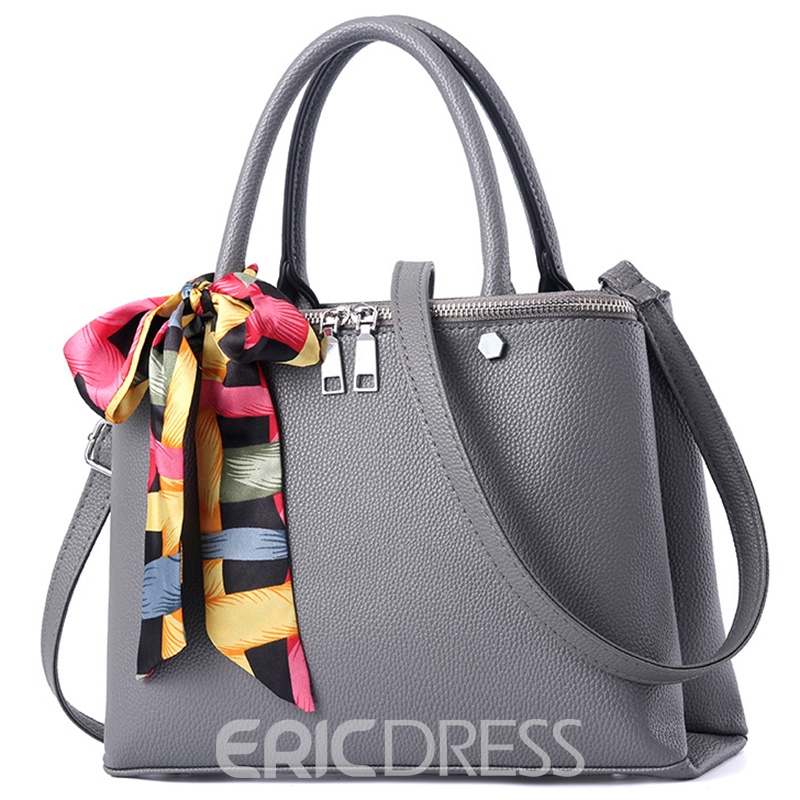 Ericdress Trendy Silk Scarves Decoration Handbag