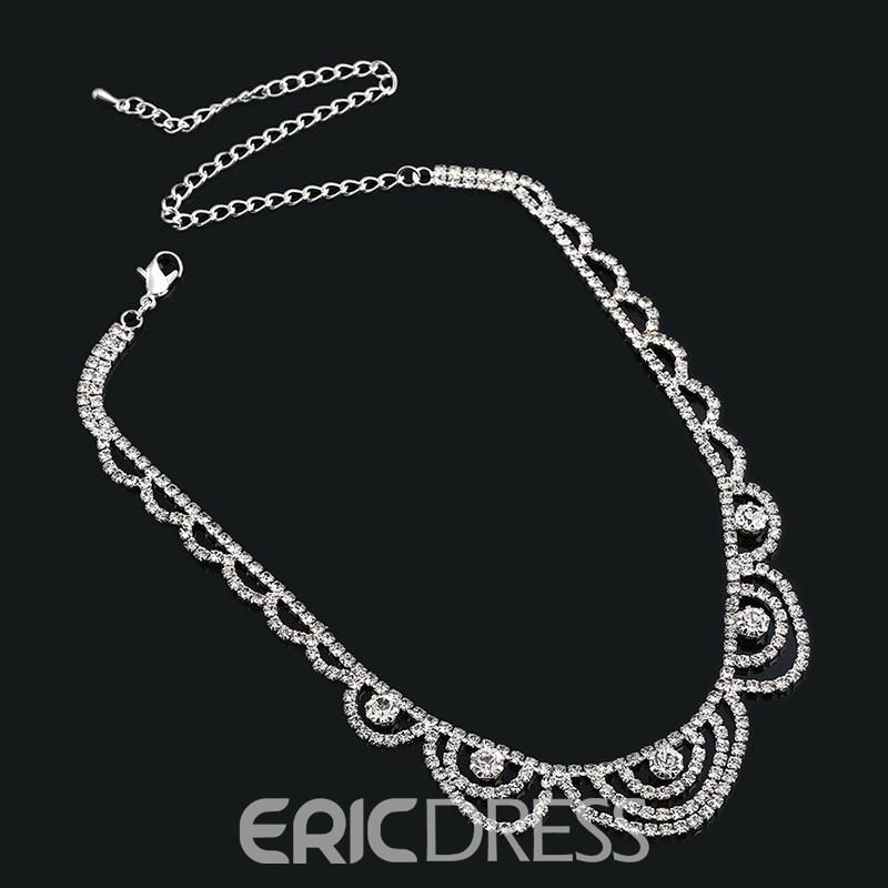 Ericdress Shinning Diamante Jewelry Set for Wedding