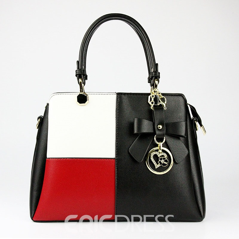 Ericdress Fashion Color Block Women Handbag