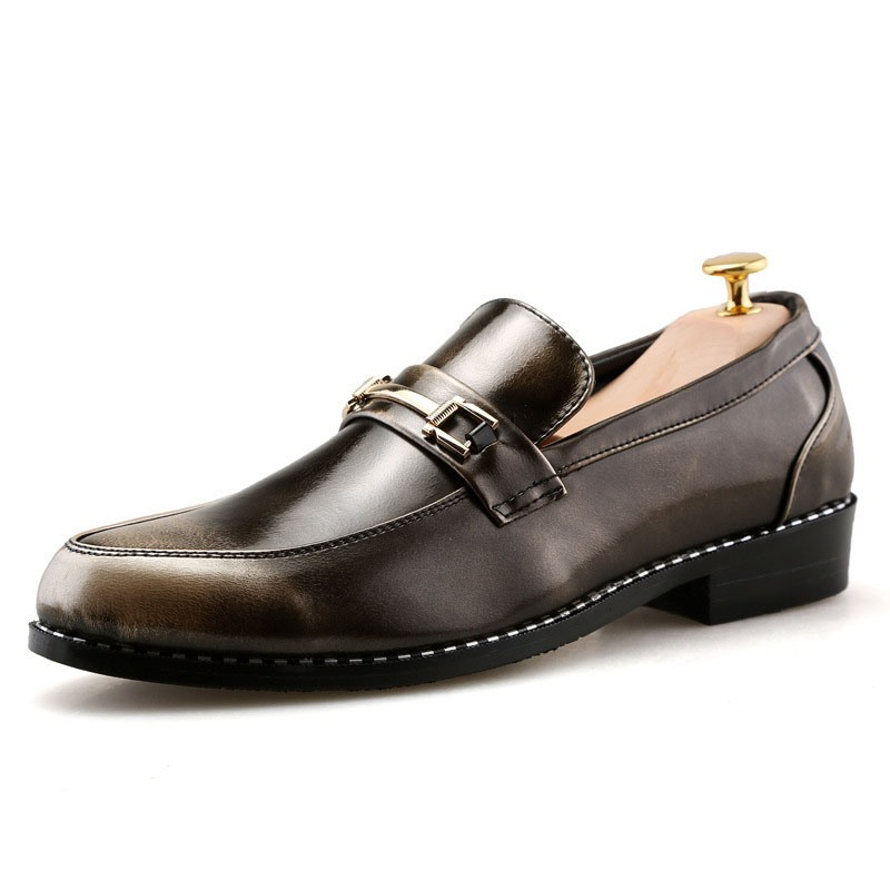 Ericdress Patent Leather Metal Decorated Men's Oxfords