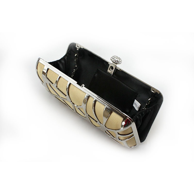Ericdress Metal Hollowed Chain Evening Bag