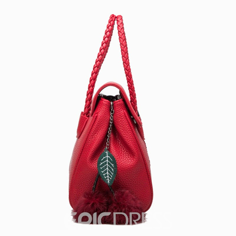 Ericdress Knitted Design Lichee Pattern Handbag