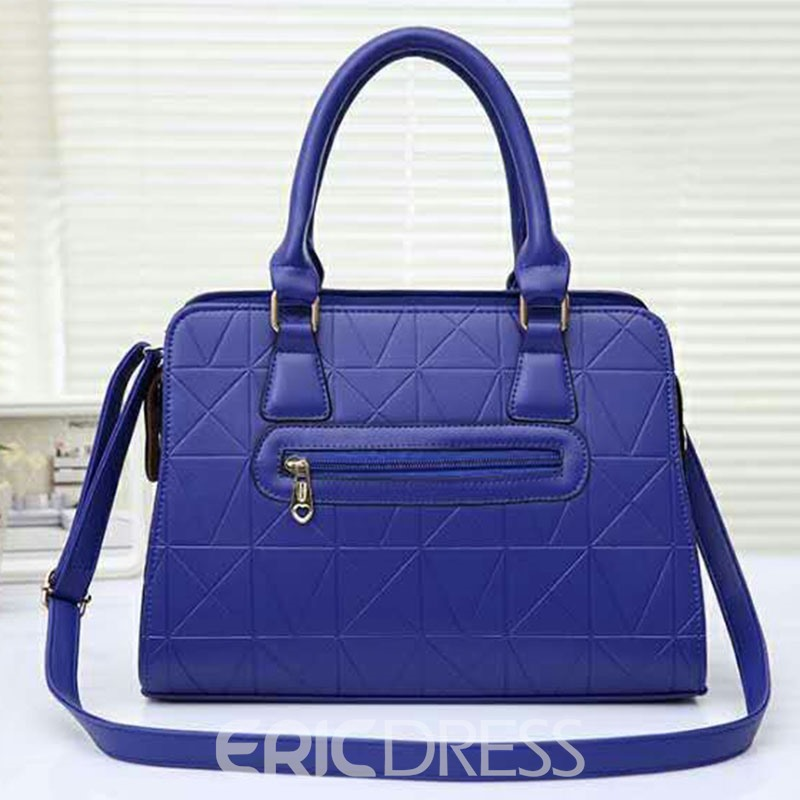 Ericdress Fashionable Embossing PU Women Handbag