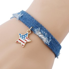 Ericdress New Style National Flag Pendant Bracelet
