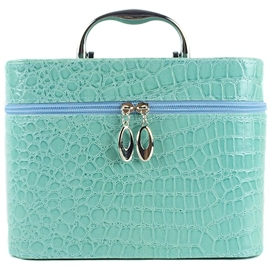 Ericdress Croco-Embossed Cosmetic Bag (3 Piece Suit)