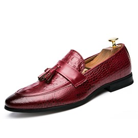 Ericdress Croco Tassels Men's Oxfords