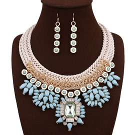 Ericdress Acrylic Gem Inlay Women's Jewelry Set