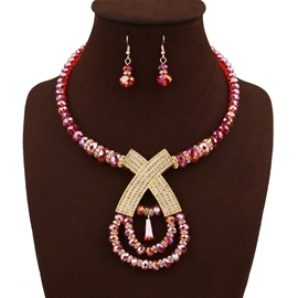 Ericdress Unique Design Crystal Jewelry Set for Women