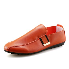 Ericdress Cozy PU Round Toe Men's Casual Shoes