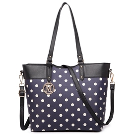 Ericdress Polka Dot Design Tote Bag
