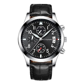 Ericdress Waterproof Light Night Trendy Men's Watch