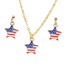 Ericdress American Flag Jewelry Set