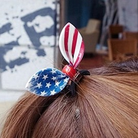 Ericdress Creative Flag Printed Hair Accessories for Women
