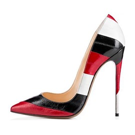 Ericdress OL Color Block Stiletto Heel Pumps
